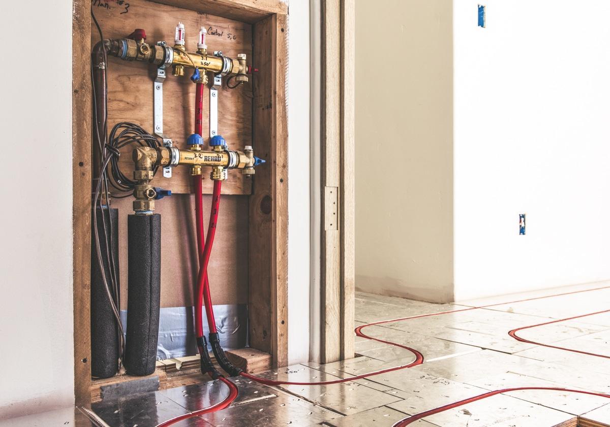 Ecowarm Radiant Floor Panel Heating