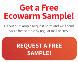 Request a free sample of Ecowarm Radiantboard!