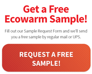 Request a free Ecowarm Sample!