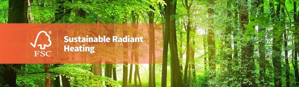 Ecowarm RadiantBoard is Sustainable