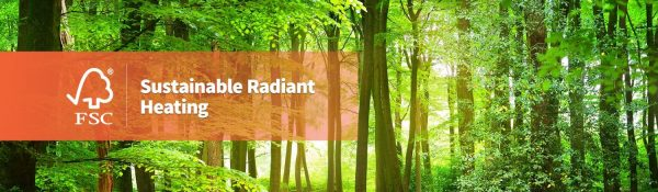 Ecowarm RadiantBoard is Sustainable
