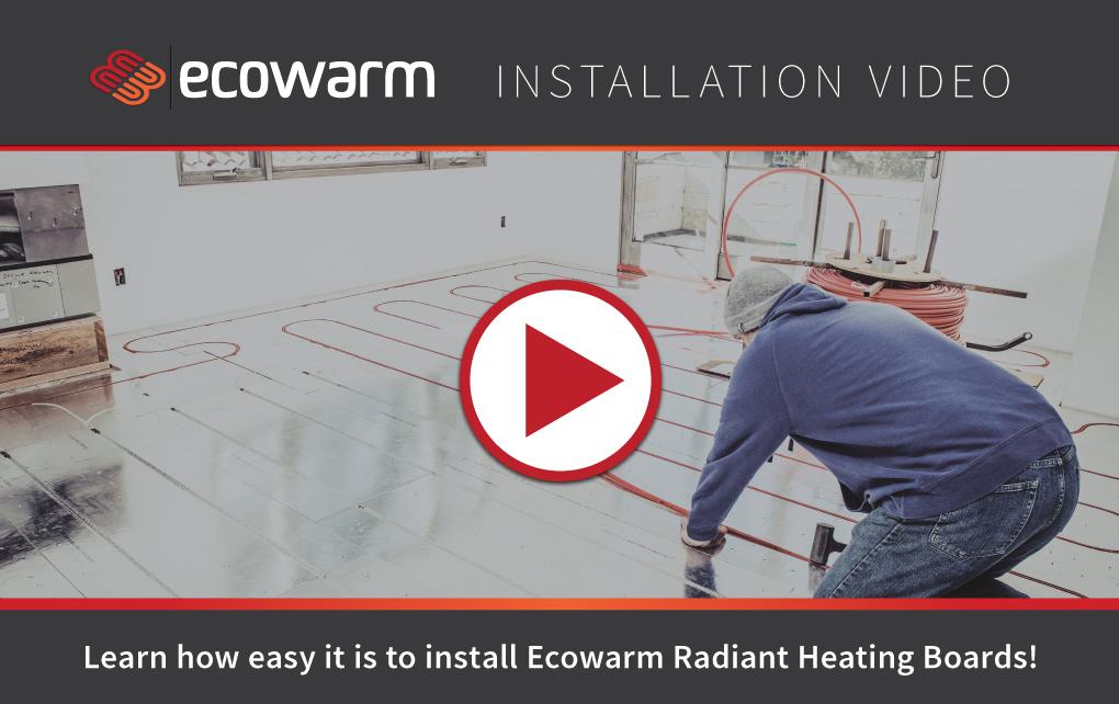 Ecowarm Installation Video