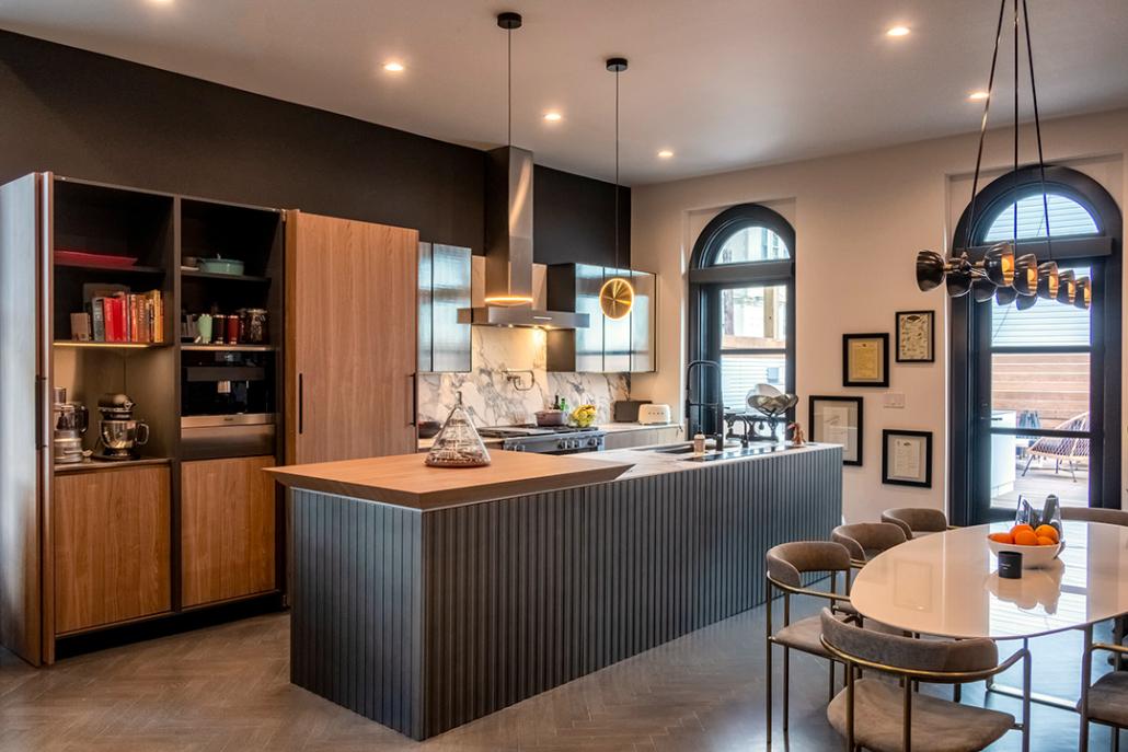 Beautiful Kitchen with Ecowarm Radiant Floor Heating