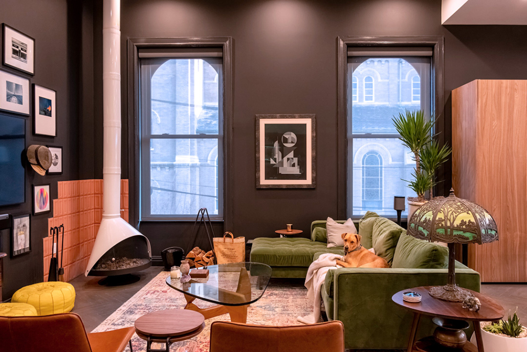 Cozy Living Room with Ecowarm Radiant Floor Heating