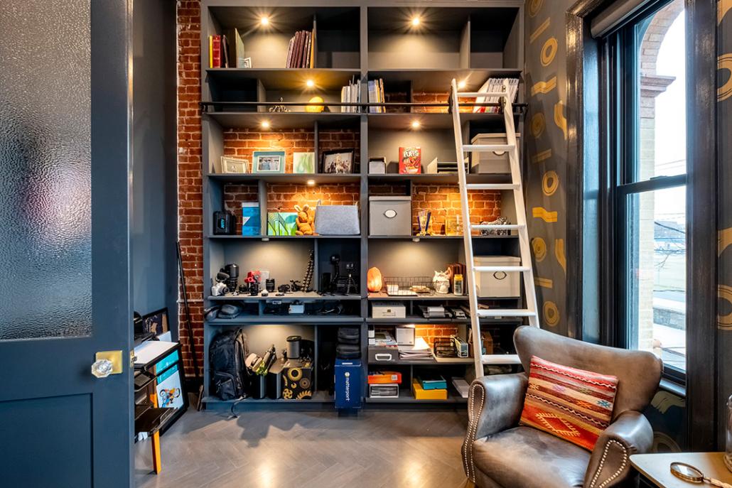 Home Office Hardwood Floors-Ecowarm Radiant Floor Heating