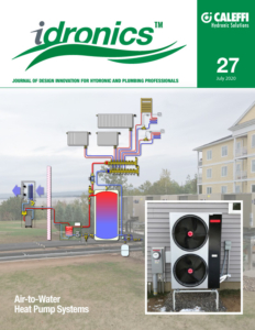 Idronics Air-to-Water Heat Pump Systems Application Guide Cover