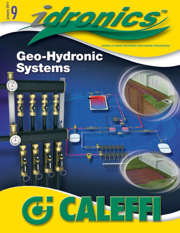 Idronics Geo-Hydronic Systems-Geothermal Heat Pump Application Guide Cover